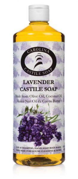 32 oz Lavender Castile Soap