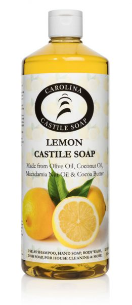 32oz Lemon Castile Soap