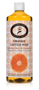 32 oz Orange Castile Soap