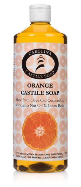 32 oz Orange Castile Soap