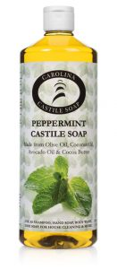 32oz Peppermint Castile Soap