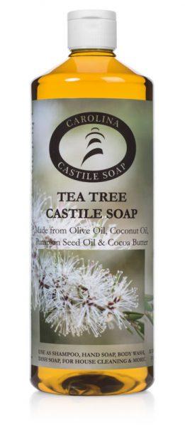 Tea Tree Castile Soap 32 oz