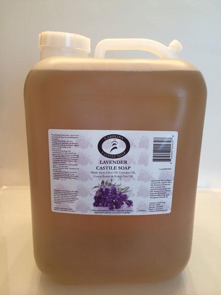 Lavender Liquid Castile Soap - 5 Gallon Jug