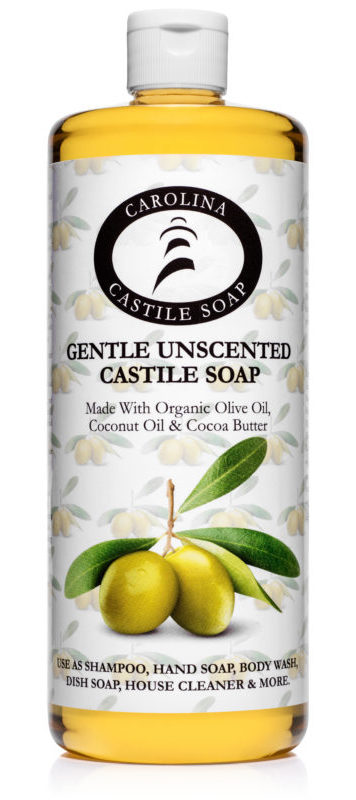 Unscented Castile Soap Quart 32 oz
