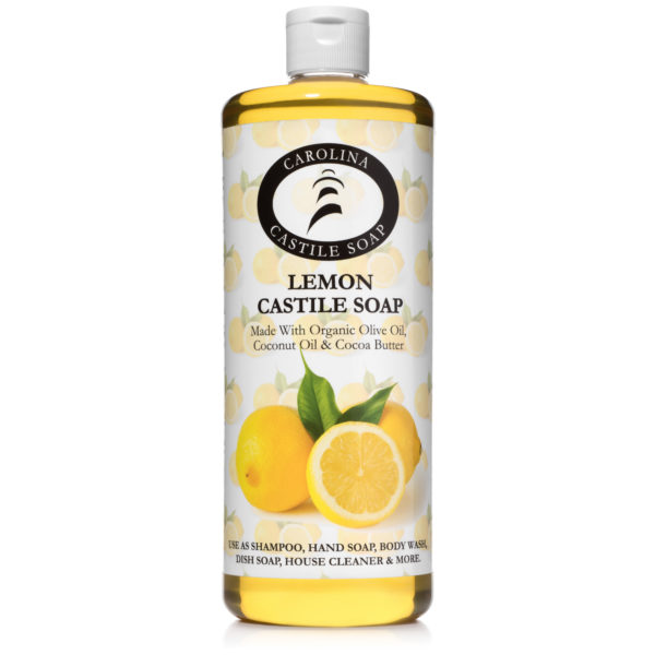 32oz Lemon Castile Soap
