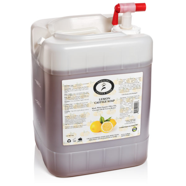 Lemon Castile Soap 5 gallon 858996004447