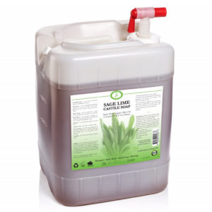 Sage Lime Castile Soap 5 Gallon